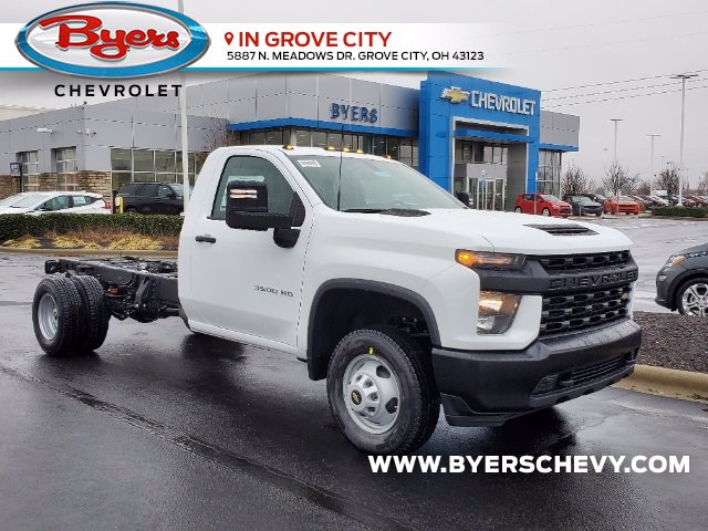 2021 Chevrolet Silverado 3500 Regular Cab 4x2, Cab Chassis #C213088 - photo 1