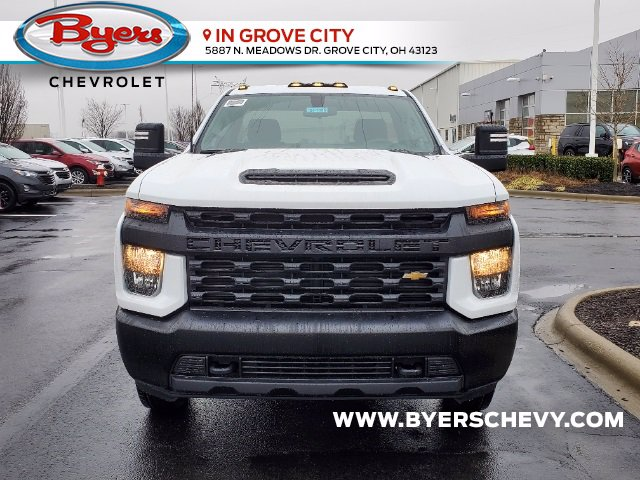 2021 Chevrolet Silverado 3500 Regular Cab 4x2, Cab Chassis #C213088 - photo 4