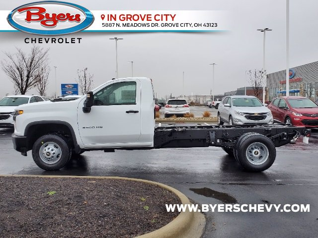 2021 Chevrolet Silverado 3500 Regular Cab 4x2, Cab Chassis #C213088 - photo 6