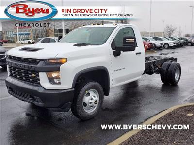 2021 Chevrolet Silverado 3500 Regular Cab 4x2, Cab Chassis #C213088 - photo 5
