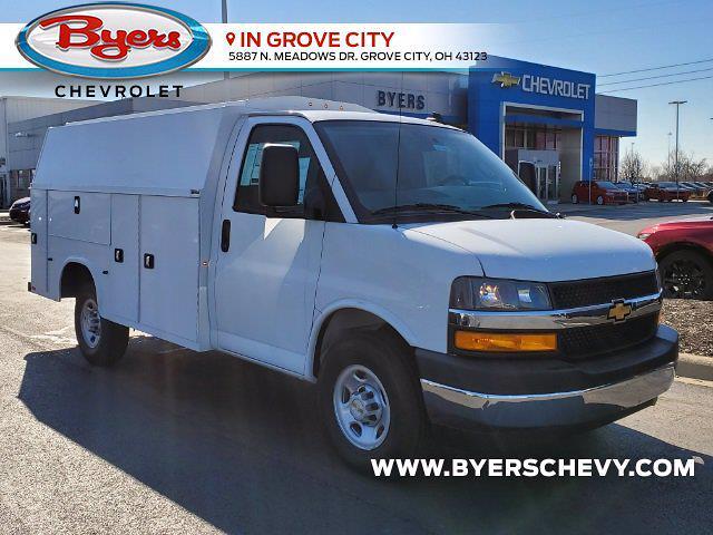2021 Chevrolet Express 3500 4x2, Knapheide Service Utility Van #C213091 - photo 1