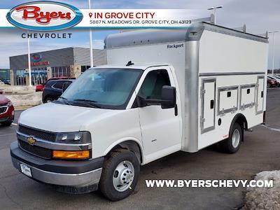 2021 Chevrolet Express 3500 4x2, Rockport Workport Service Utility Van #C213106 - photo 4