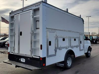 2021 Chevrolet Express 3500 4x2, Rockport Workport Service Utility Van #C213106 - photo 8
