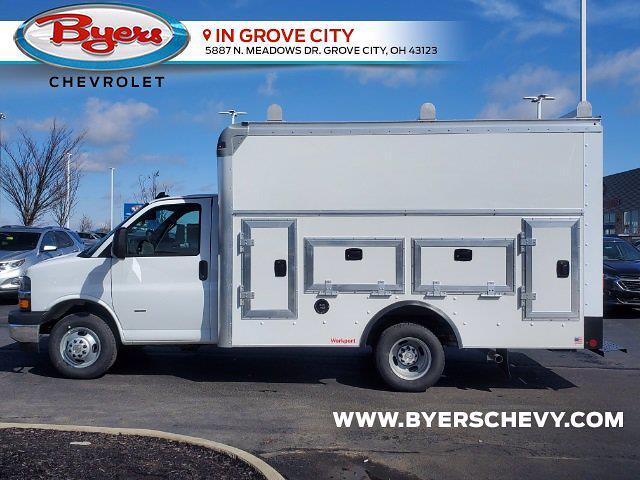 2021 Chevrolet Express 3500 4x2, Rockport Workport Service Utility Van #C213108 - photo 6