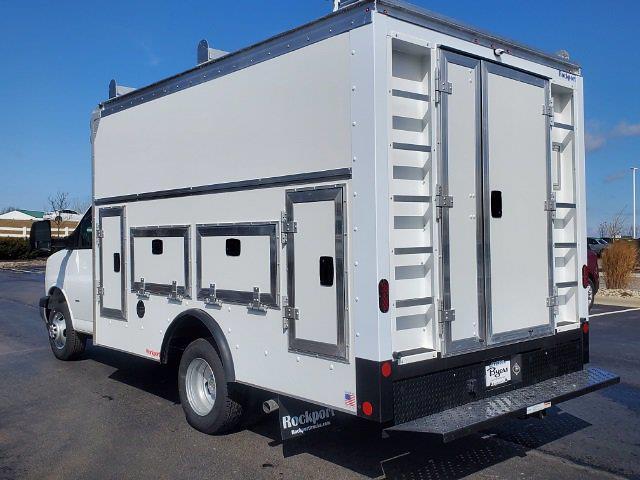 2021 Chevrolet Express 3500 4x2, Rockport Workport Service Utility Van #C213108 - photo 7