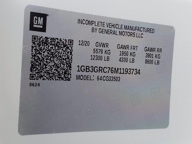 2021 Chevrolet Express 3500 4x2, Rockport Workport Service Utility Van #C213108 - photo 60