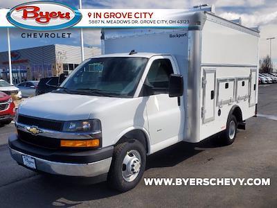 2021 Chevrolet Express 3500 4x2, Rockport Workport Service Utility Van #C213108 - photo 5
