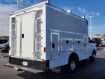 2021 Chevrolet Express 3500 4x2, Rockport Workport Service Utility Van #C213108 - photo 2
