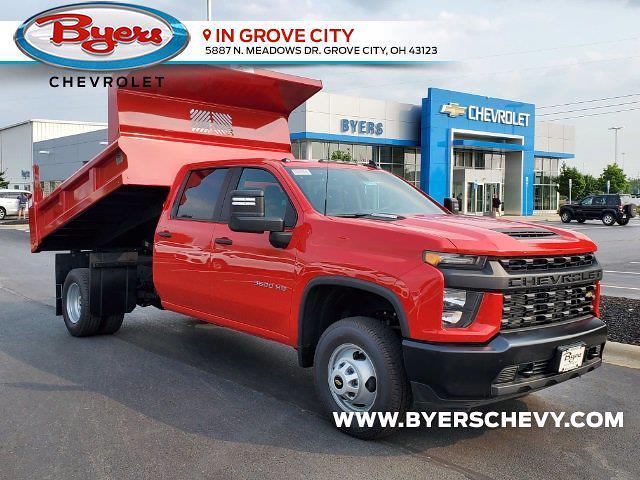 2021 Chevrolet Silverado 3500 Crew Cab 4x2, Rugby Dump Body #C213131 - photo 1