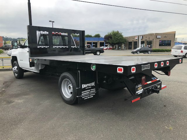 2018 Silverado 3500 Regular Cab DRW 4x4,  Knapheide Value-Master X Platform Body #11711 - photo 2