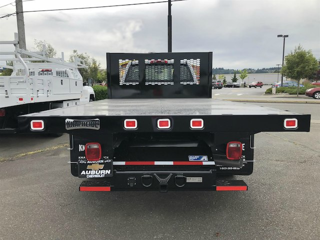 2018 Silverado 3500 Regular Cab DRW 4x4,  Knapheide Value-Master X Platform Body #11711 - photo 4
