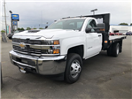 2018 Silverado 3500 Regular Cab DRW 4x4,  Knapheide Value-Master X Platform Body #11711 - photo 1