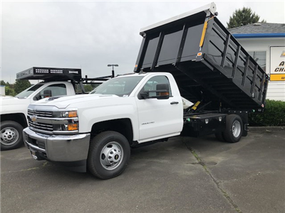 2018 Silverado 3500 Regular Cab DRW 4x4,  Knapheide Landscape Dump #11752 - photo 1
