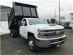 2018 Silverado 3500 Regular Cab DRW 4x4,  Knapheide Landscape Dump #11752 - photo 3