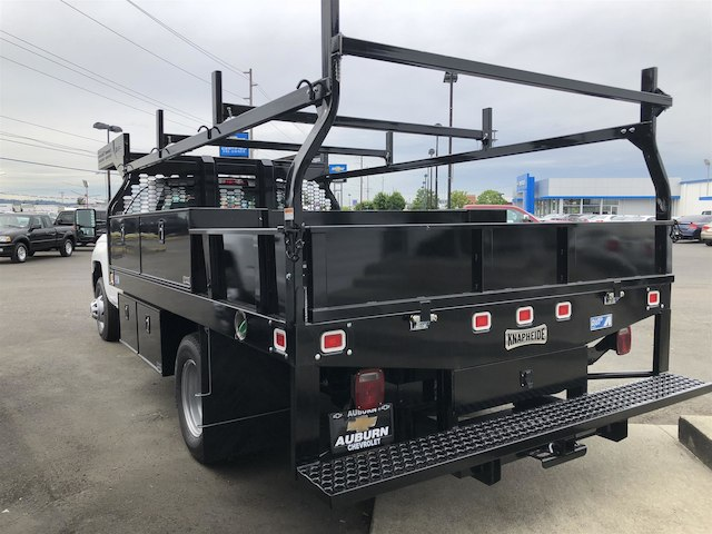 2018 Silverado 3500 Regular Cab DRW 4x4,  Knapheide Contractor Body #11776 - photo 2