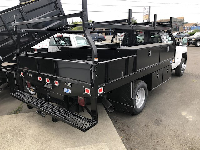 2018 Silverado 3500 Regular Cab DRW 4x4,  Knapheide Contractor Body #11776 - photo 6