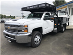2018 Silverado 3500 Regular Cab DRW 4x4,  Knapheide Contractor Body #11776 - photo 1