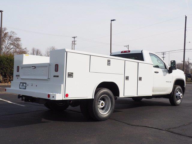 2021 Chevrolet Silverado 3500 Regular Cab 4x4, Reading Service Body #T21338 - photo 1