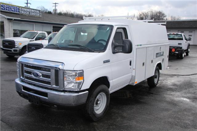 2017 E-350,  Reading Aluminum CSV Service Utility Van #F01841 - photo 4