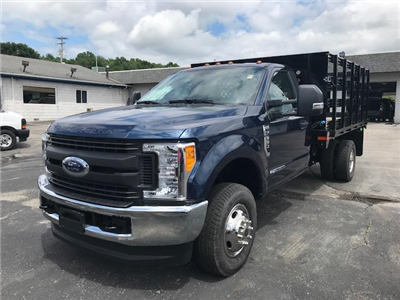 2017 F-350 Regular Cab DRW 4x4,  Stake Bed #F02192 - photo 1