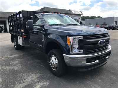 2017 F-350 Regular Cab DRW 4x4,  Stake Bed #F02192 - photo 13