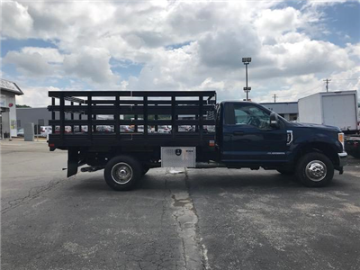 2017 F-350 Regular Cab DRW 4x4,  Stake Bed #F02192 - photo 14