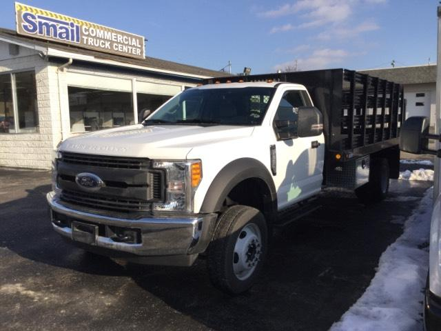 2017 F-550 Regular Cab DRW, Reading Steel Stake Bodies Stake Bed #F02216 - photo 1