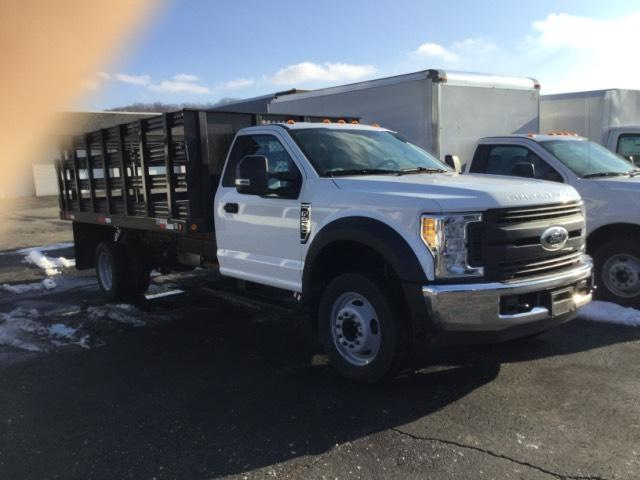 2017 F-550 Regular Cab DRW, Reading Steel Stake Bodies Stake Bed #F02216 - photo 4