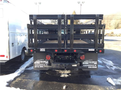 2017 F-550 Regular Cab DRW, Reading Steel Stake Bodies Stake Bed #F02216 - photo 6