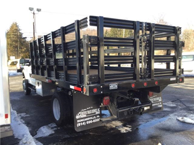 2017 F-550 Regular Cab DRW, Reading Steel Stake Bodies Stake Bed #F02216 - photo 2