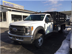 2017 F-550 Regular Cab DRW, Reading Stake Bed #F02216 - photo 1