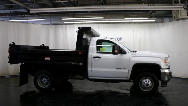 2017 Sierra 3500 Regular Cab DRW 4x4, Dump Body #G13034 - photo 3