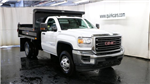 2017 Sierra 3500 Regular Cab DRW 4x4, Dump Body #G13034 - photo 1