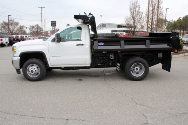 2017 Sierra 3500 Regular Cab DRW 4x4, Dump Body #G13929 - photo 3