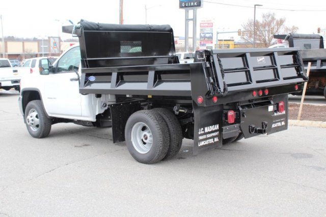2017 Sierra 3500 Regular Cab DRW 4x4, Dump Body #G13929 - photo 2