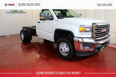 2017 Sierra 3500 Regular Cab DRW 4x4,  Cab Chassis #G13944 - photo 1