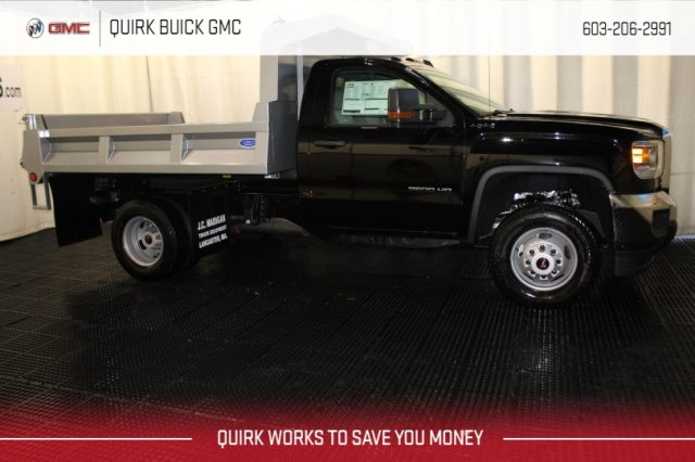 2017 Sierra 3500 Regular Cab DRW 4x4,  Dump Body #G13972 - photo 3