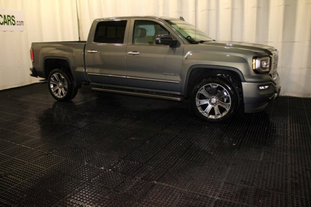 2018 Sierra 1500 Crew Cab 4x4, Pickup #G14241 - photo 3