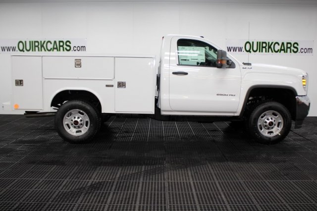 2018 Sierra 2500 Regular Cab 4x4, Service Body #G14284 - photo 3