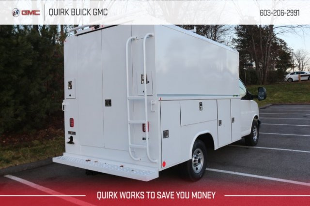 2019 GMC Savana 3500 4x2, Reading Service Utility Van #G16660 - photo 1