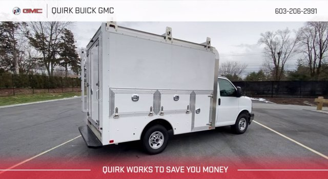 2020 GMC Savana 3500 4x2, Dejana Service Utility Van #G17607 - photo 1