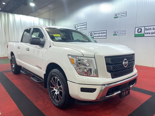 2021 Nissan Titan 4x4, Pickup #NS43942 - photo 1