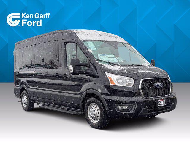 2021 Ford Transit 350 Medium Roof AWD, Passenger Wagon #1F10299 - photo 1