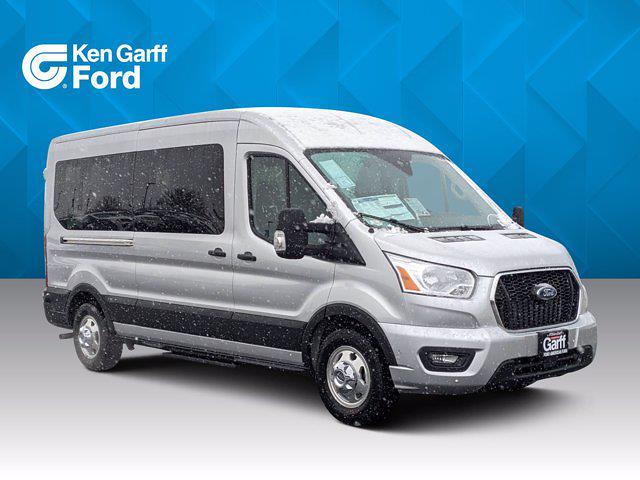 2021 Ford Transit 350 Medium Roof AWD, Passenger Wagon #1F10303 - photo 1