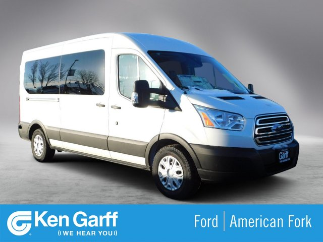 2019 Transit 350 Med Roof 4x2,  Passenger Wagon #1F90315 - photo 1