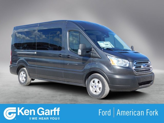 2019 Transit 350 Med Roof 4x2,  Passenger Wagon #1F90437 - photo 1