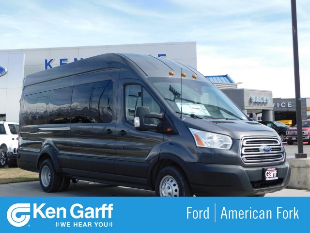 2019 Transit 350 HD High Roof DRW 4x2,  Passenger Wagon #1F90502 - photo 1