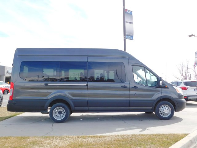 2019 Transit 350 HD High Roof DRW 4x2,  Passenger Wagon #1F90502 - photo 3