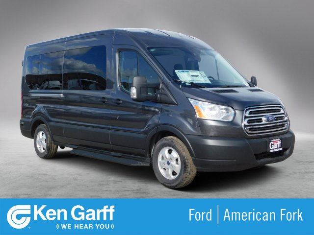 2019 Transit 350 Med Roof 4x2,  Passenger Wagon #1F90647 - photo 1