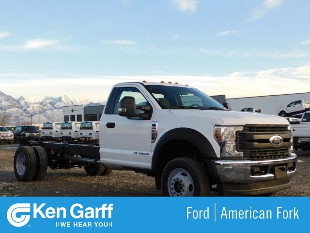 2019 F-550 Regular Cab DRW 4x4,  Cab Chassis #1FD1815 - photo 1